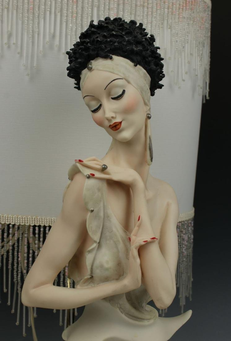 "Giuseppe Armani Figurine Lamp ""Fascination"" - 6"