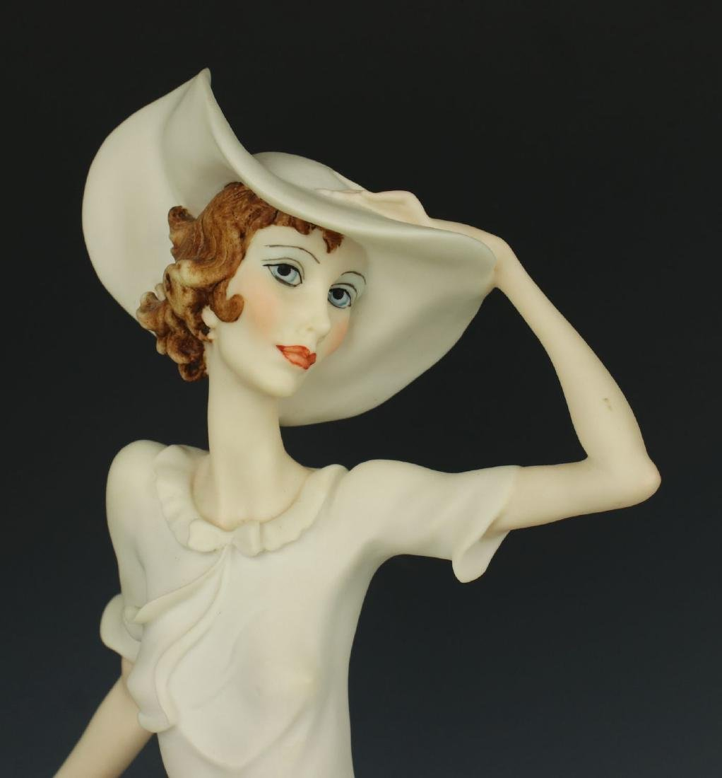 "Giuseppe Armani Figurine Spring ""Lady on Bicycle"" - 7"