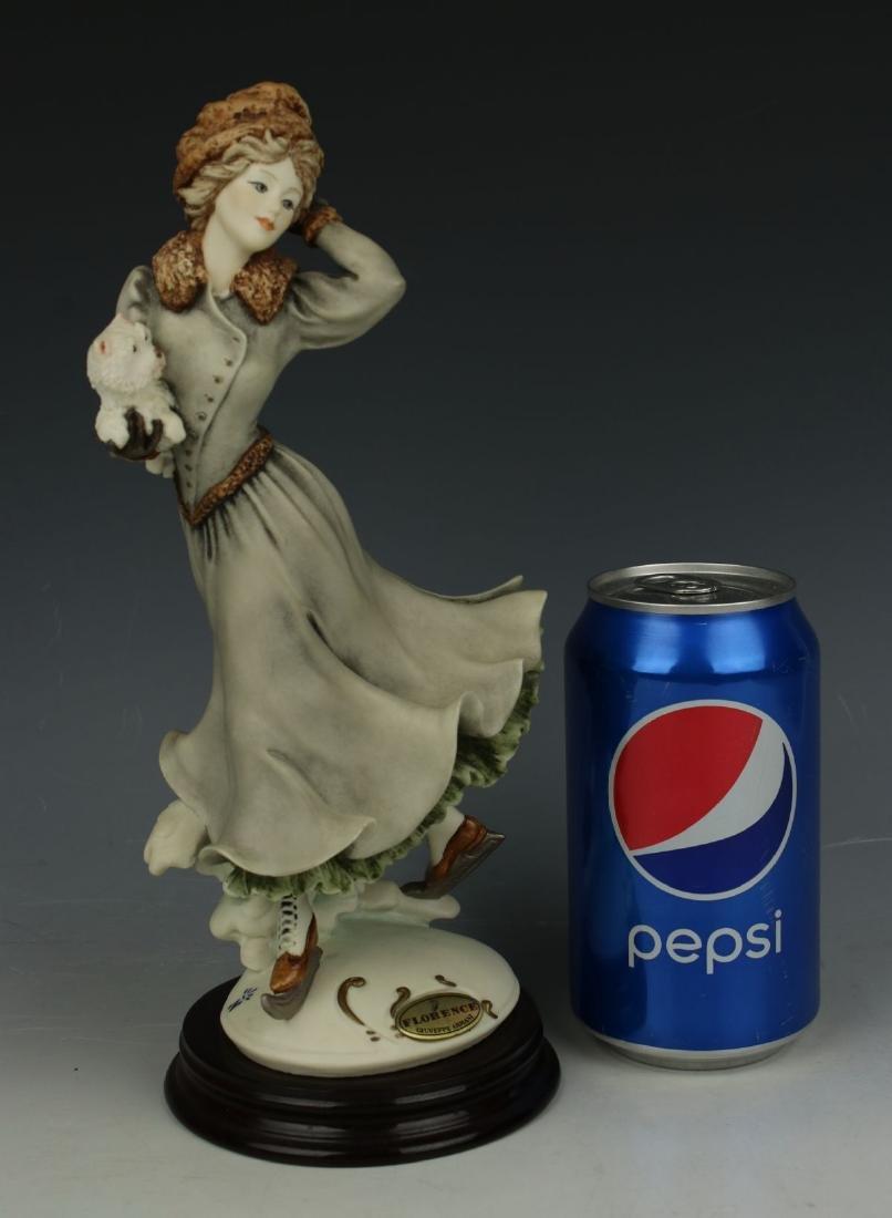 """Giuseppe Armani Figurine """"Winter Fun"""" - 10"""