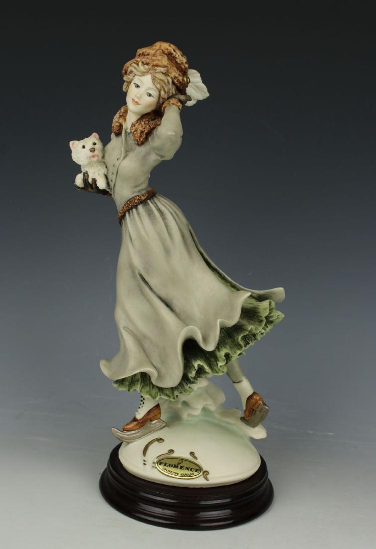 """Giuseppe Armani Figurine """"Winter Fun"""""""
