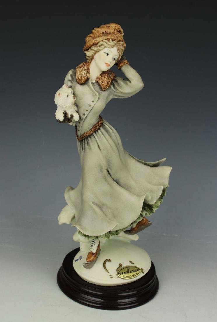 """Giuseppe Armani Figurine """"Winter Fun"""" - 2"""