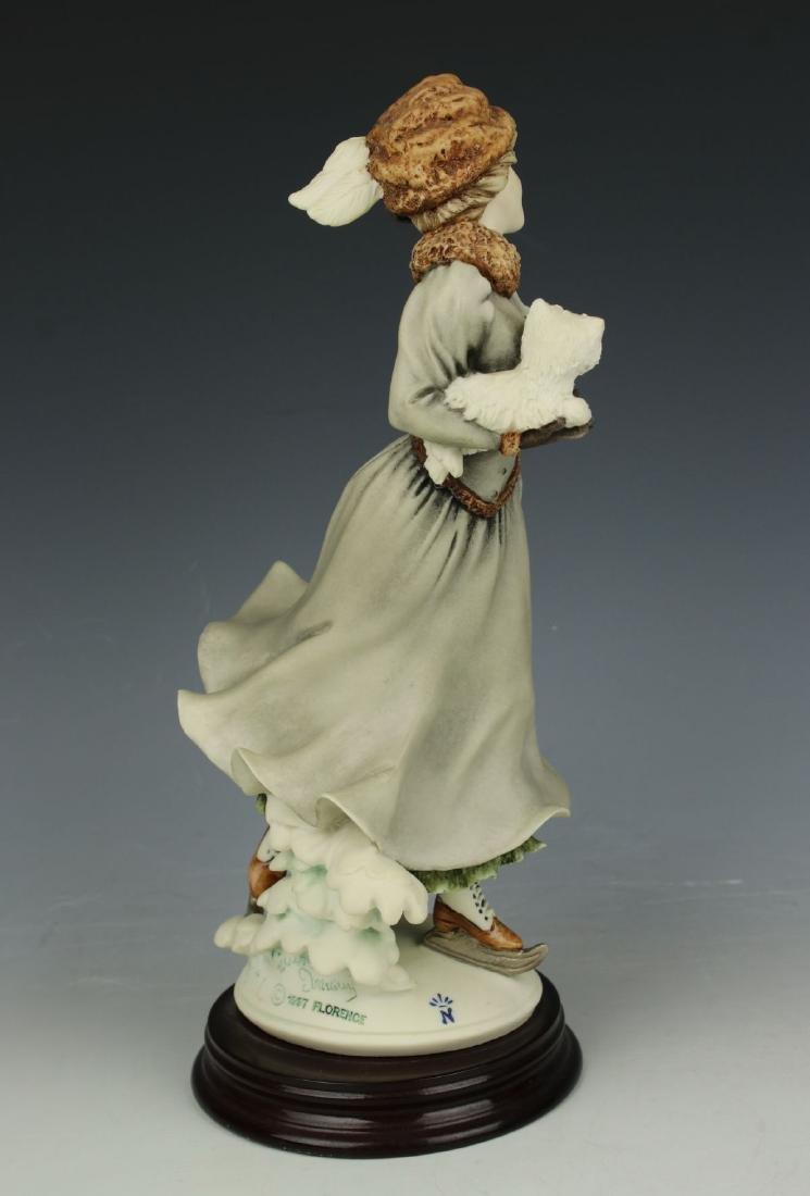 """Giuseppe Armani Figurine """"Winter Fun"""" - 3"""
