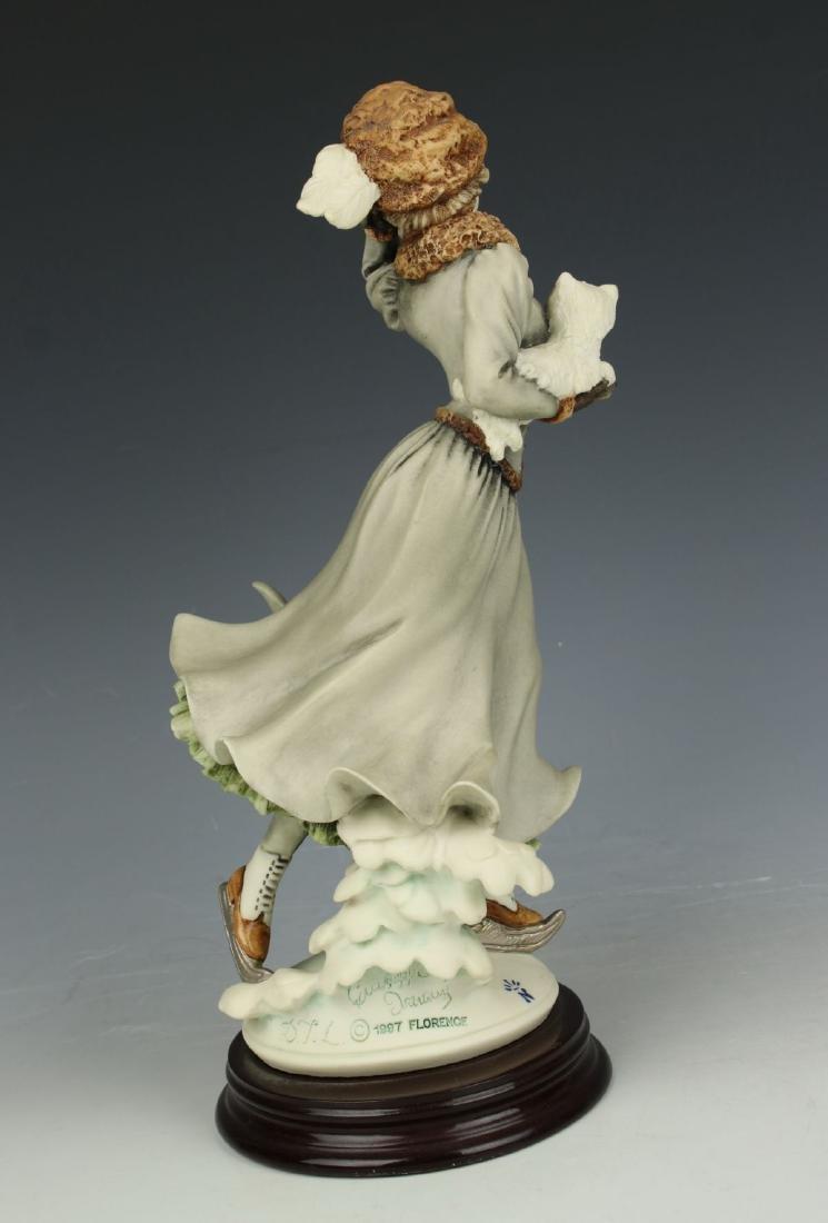 """Giuseppe Armani Figurine """"Winter Fun"""" - 4"""