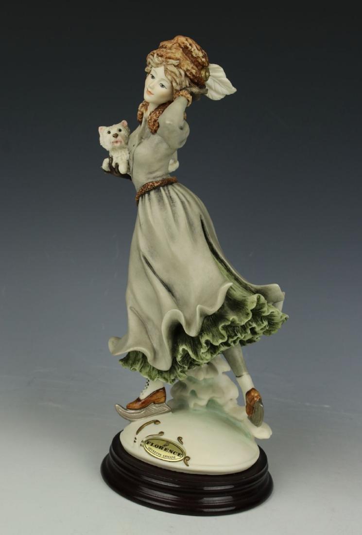 """Giuseppe Armani Figurine """"Winter Fun"""" - 5"""