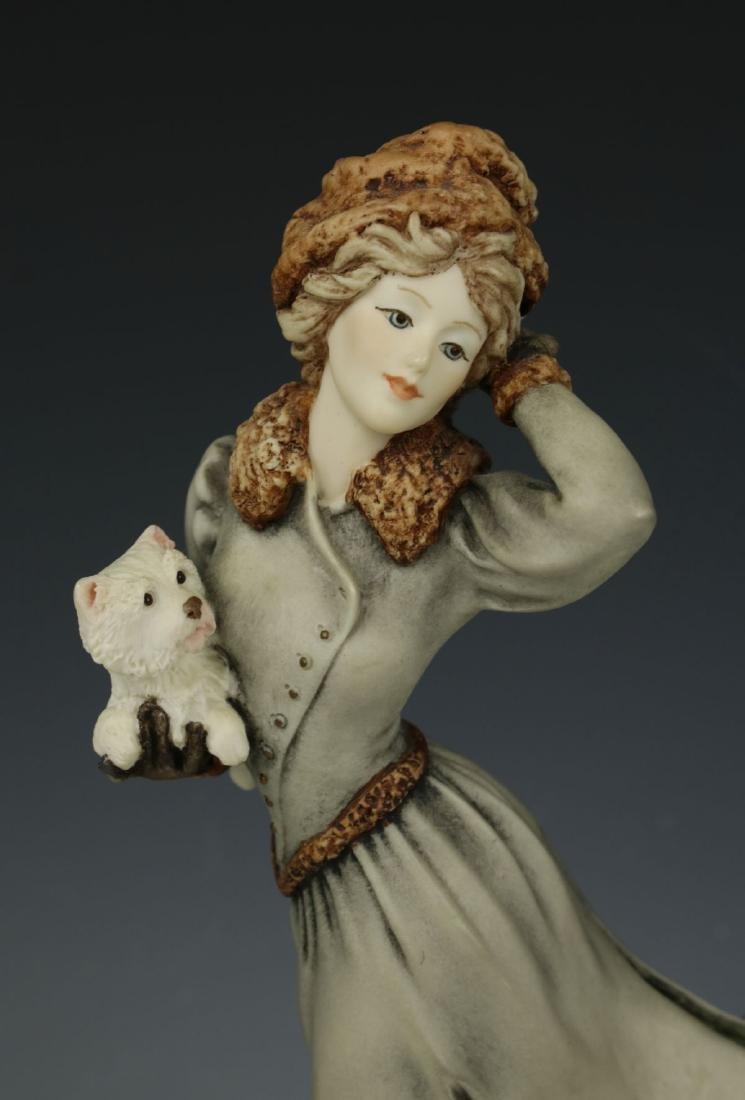 """Giuseppe Armani Figurine """"Winter Fun"""" - 6"""