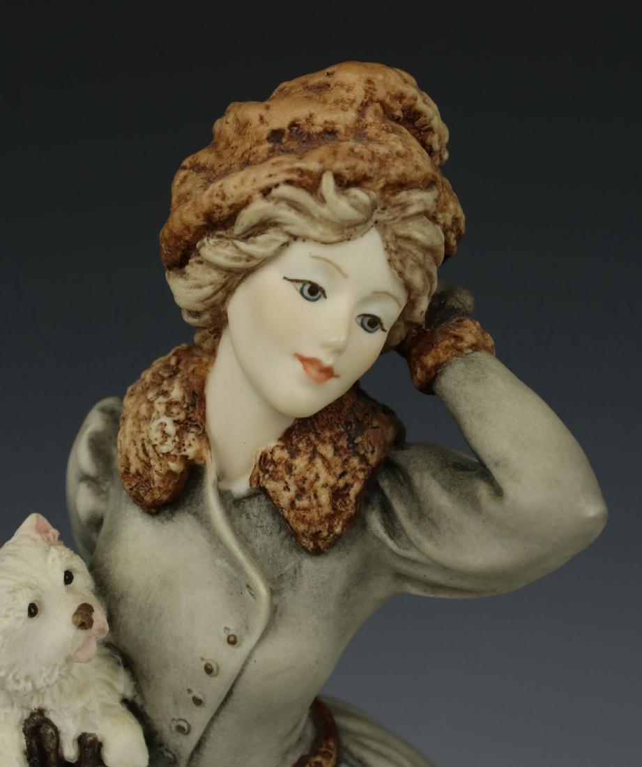 """Giuseppe Armani Figurine """"Winter Fun"""" - 7"""