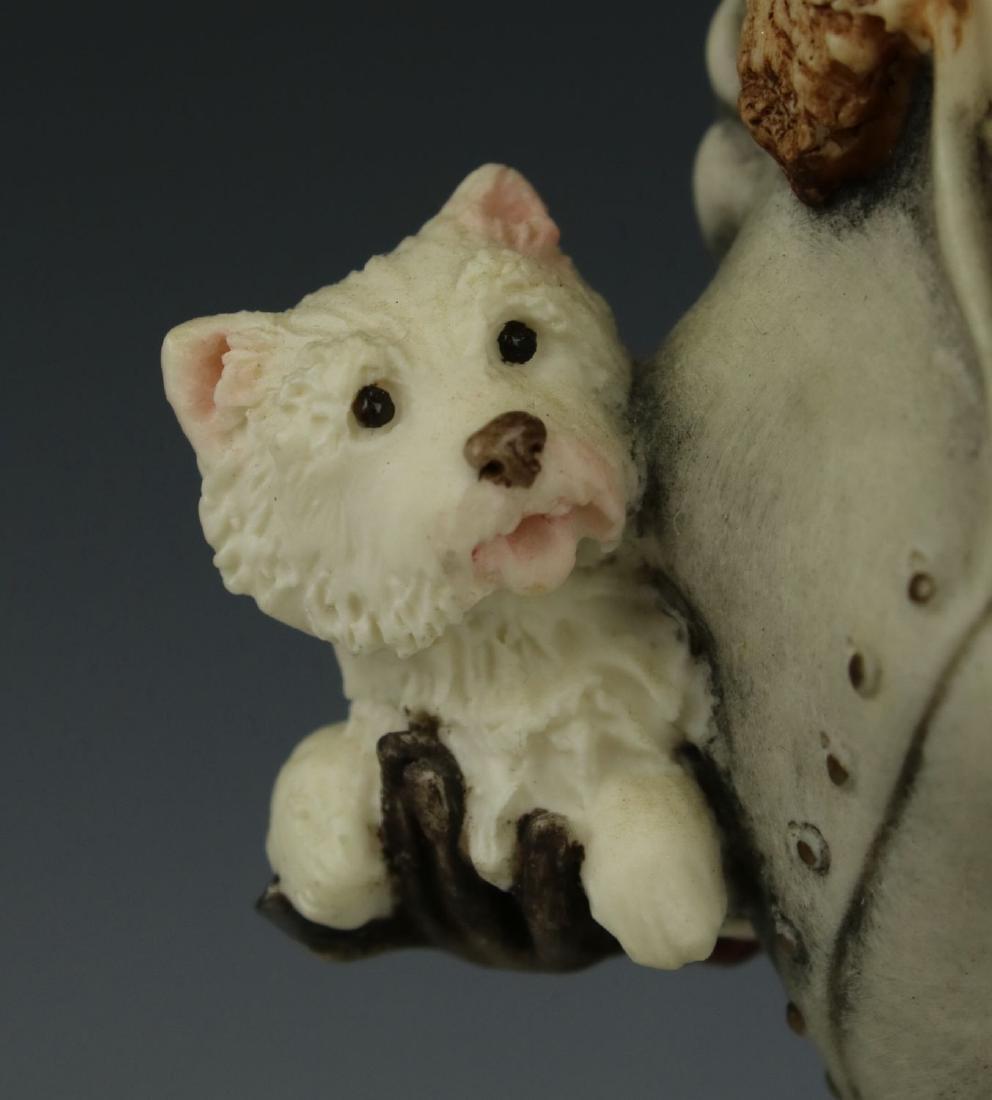 """Giuseppe Armani Figurine """"Winter Fun"""" - 8"""