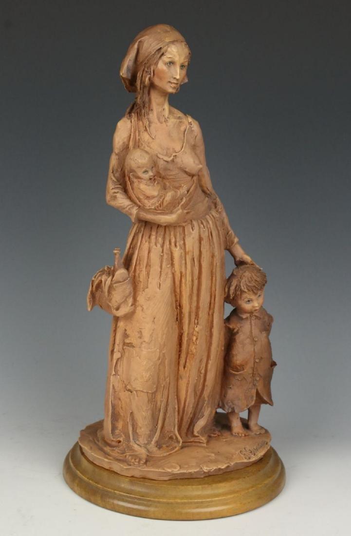 "Giuseppe Armani Figurine ""Gypsy Woman"" - 5"