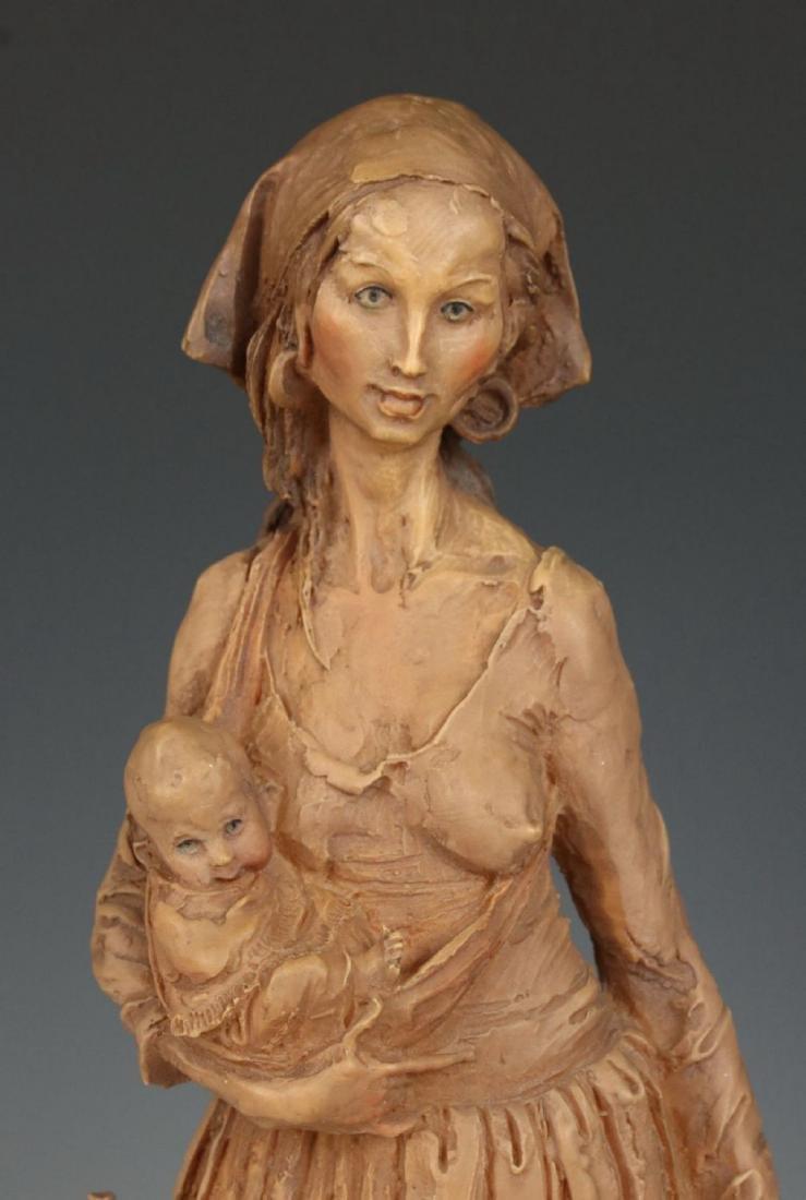 "Giuseppe Armani Figurine ""Gypsy Woman"" - 6"