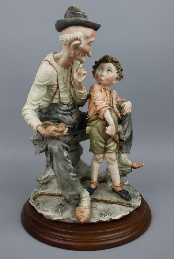 "Giuseppe Armani Figurine ""Story Telling"" - 2"