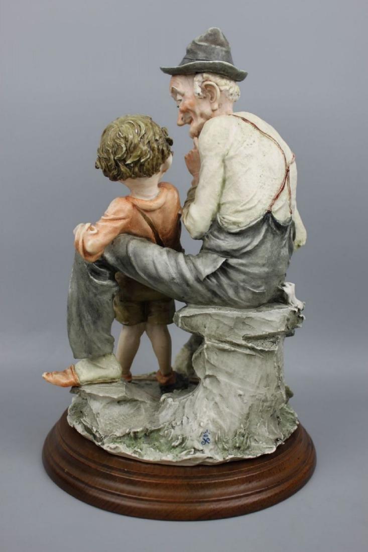 "Giuseppe Armani Figurine ""Story Telling"" - 6"