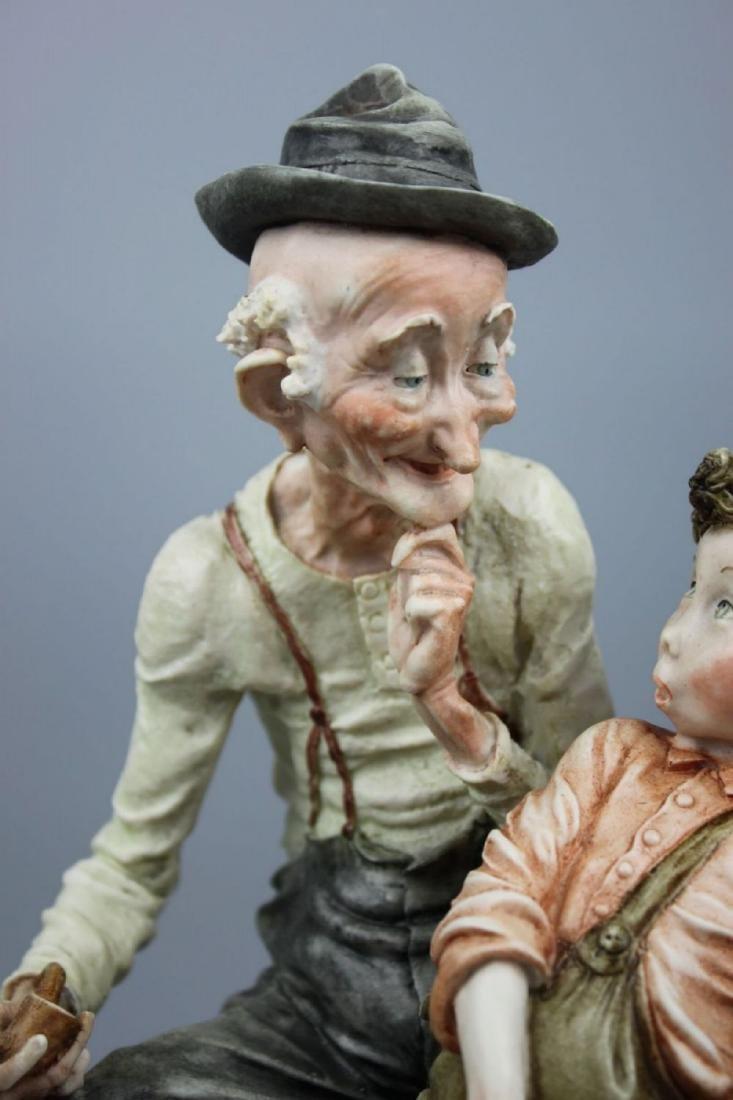 "Giuseppe Armani Figurine ""Story Telling"" - 7"