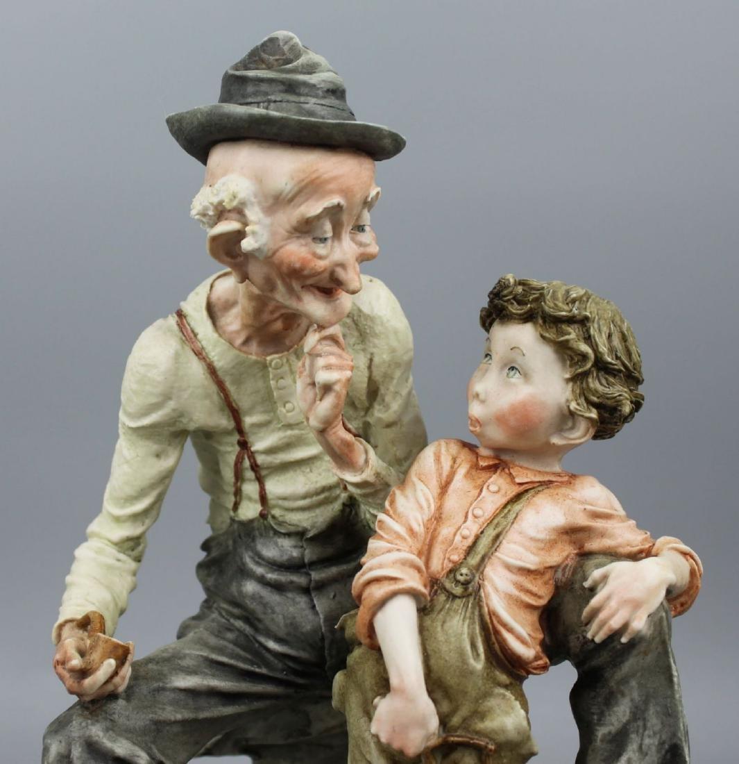 "Giuseppe Armani Figurine ""Story Telling"" - 8"