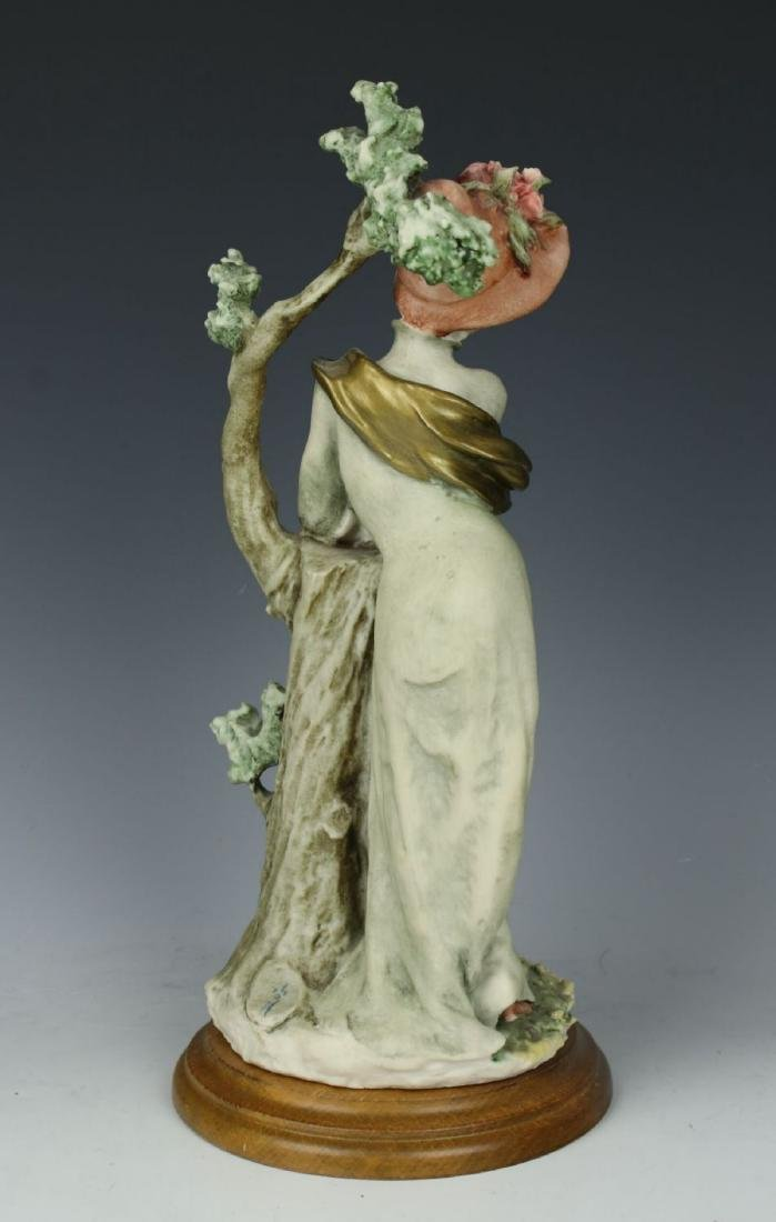 "Giuseppe Armani Figurine ""Lady with Parasol"" - 5"