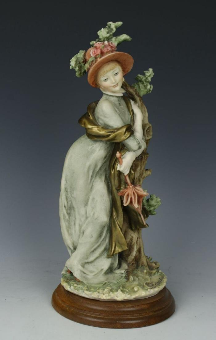 "Giuseppe Armani Figurine ""Lady with Parasol"" - 6"