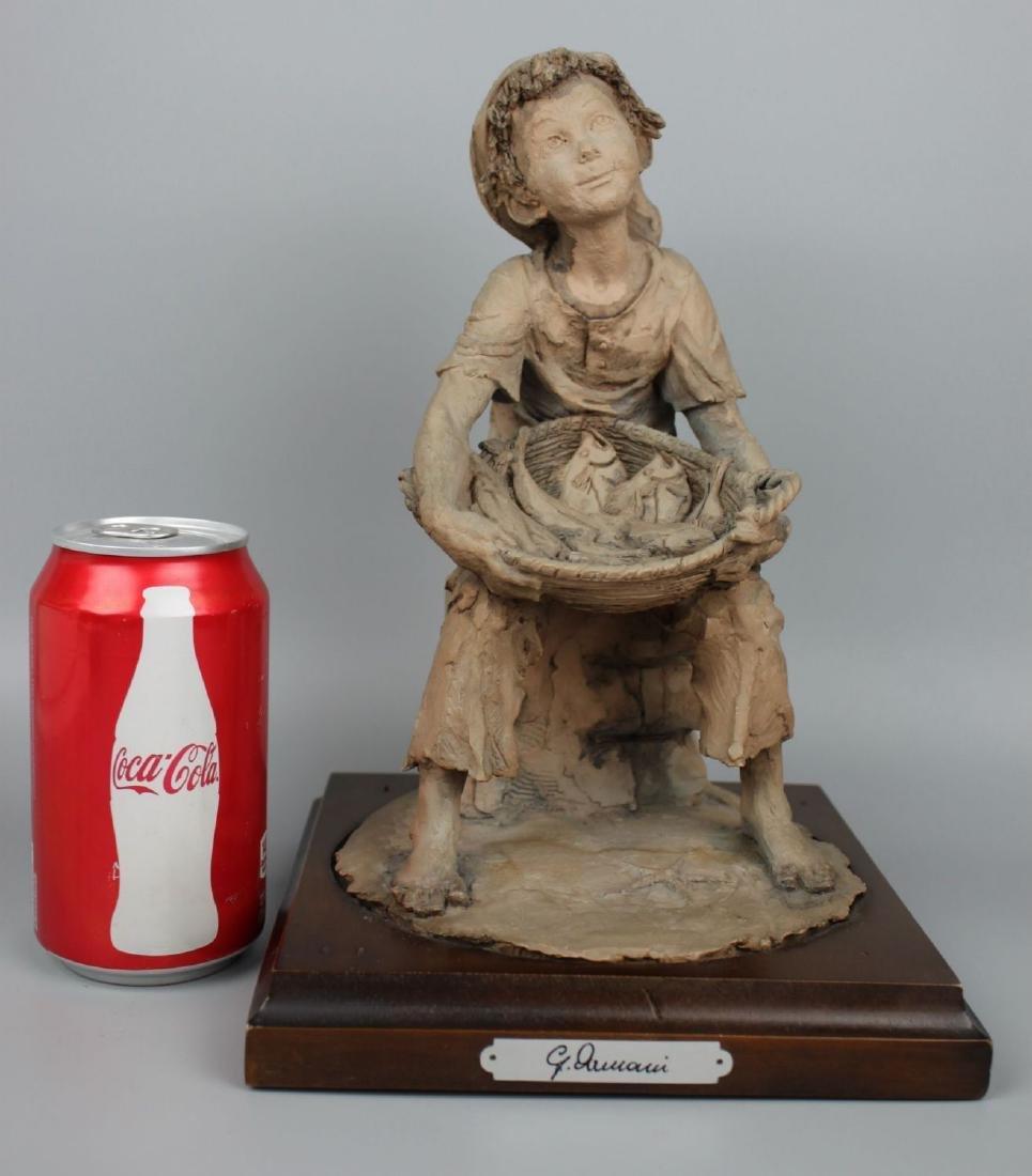 Rare Giuseppe Armani Figurine Fish Seller - 10