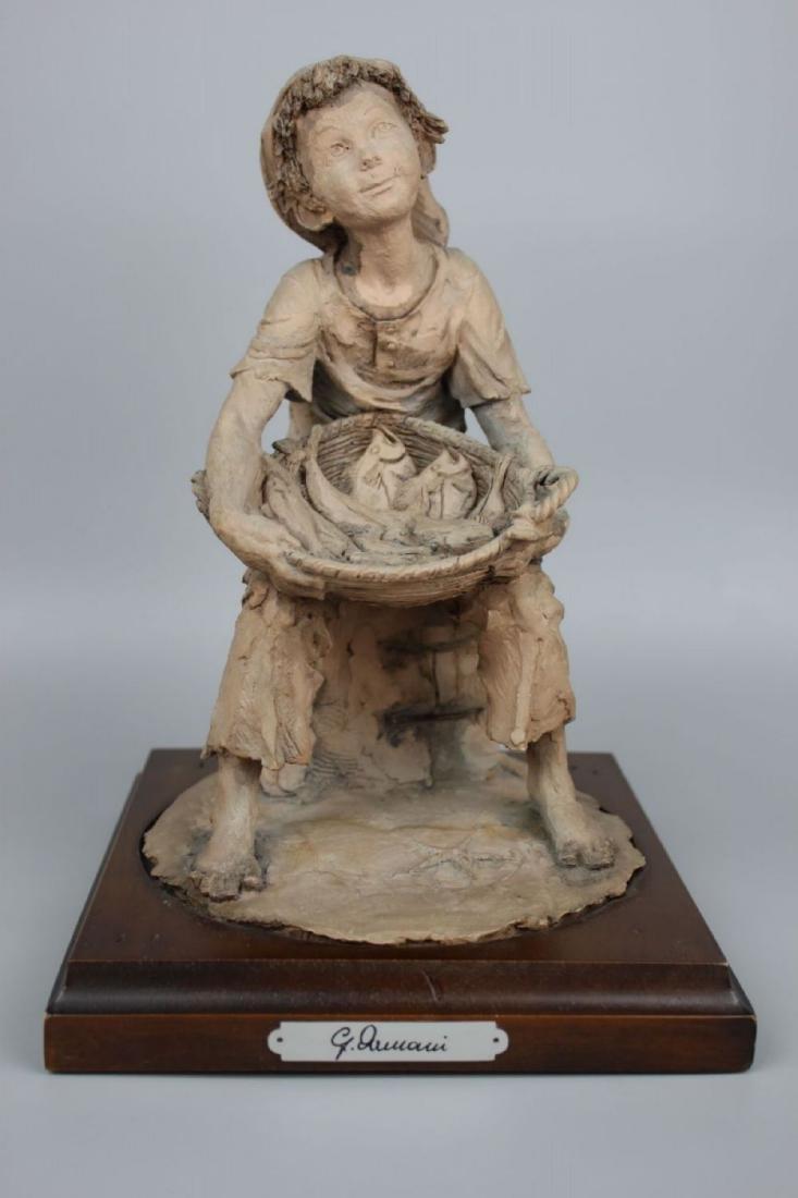 Rare Giuseppe Armani Figurine Fish Seller