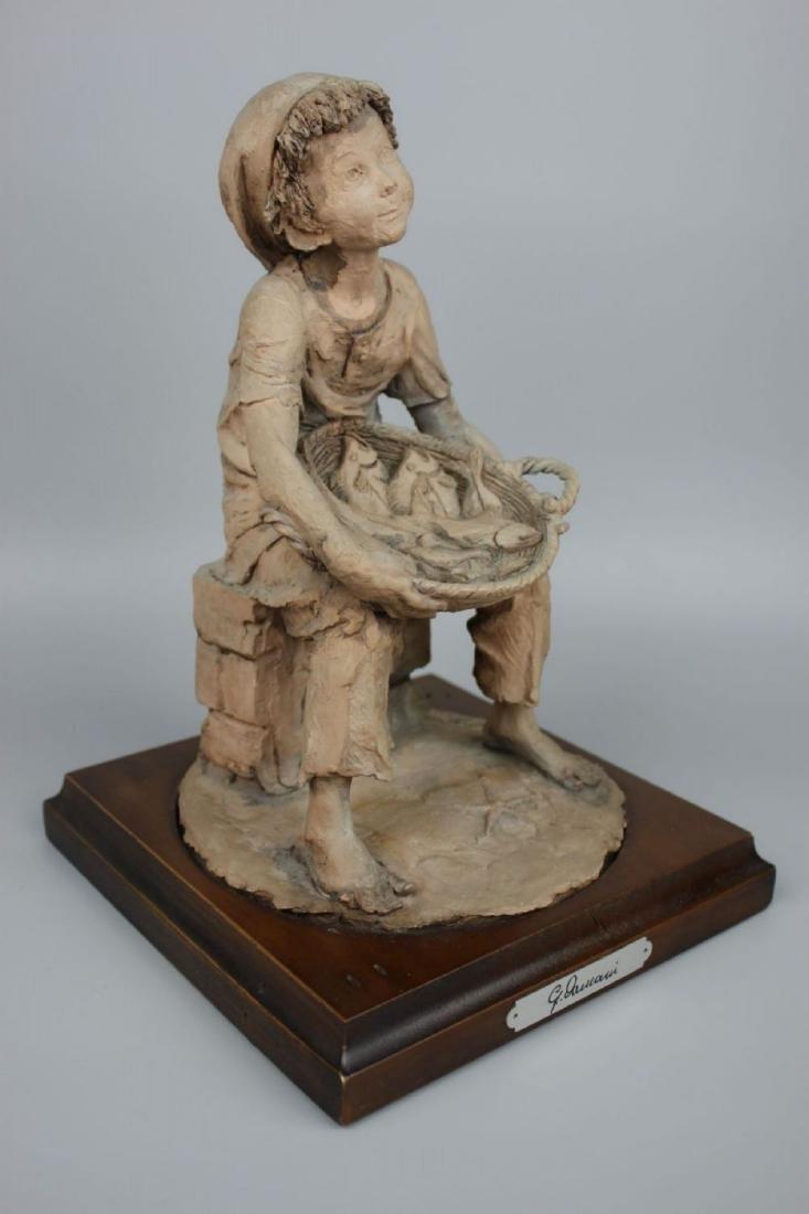 Rare Giuseppe Armani Figurine Fish Seller - 2