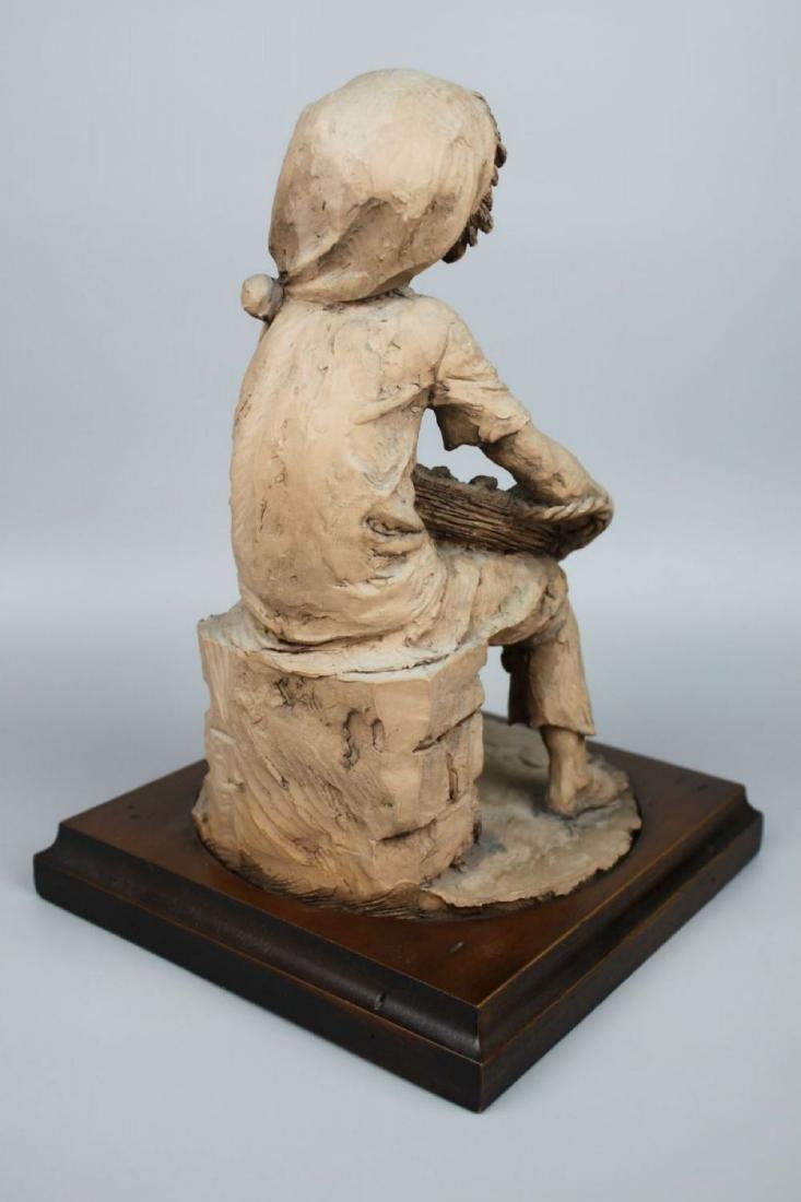 Rare Giuseppe Armani Figurine Fish Seller - 3