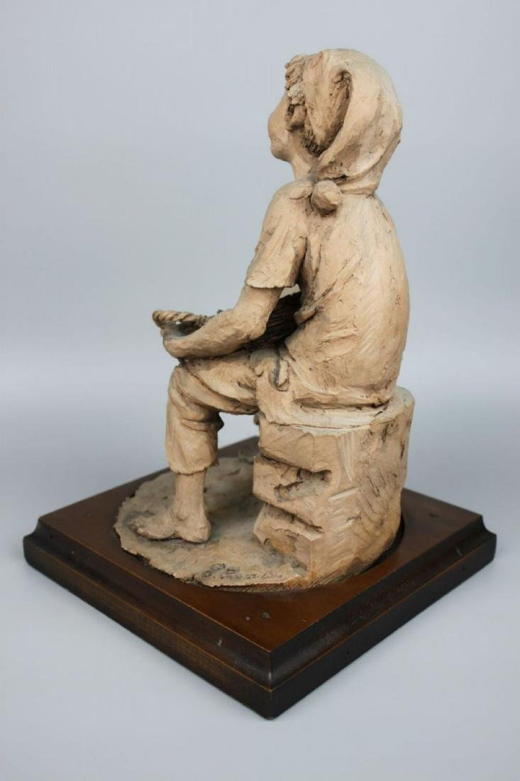 Rare Giuseppe Armani Figurine Fish Seller - 4