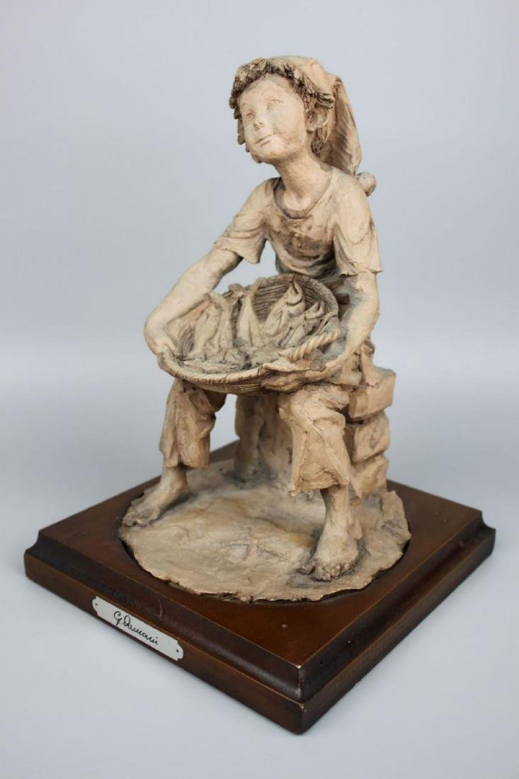 Rare Giuseppe Armani Figurine Fish Seller - 5