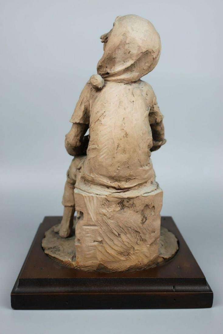 Rare Giuseppe Armani Figurine Fish Seller - 6