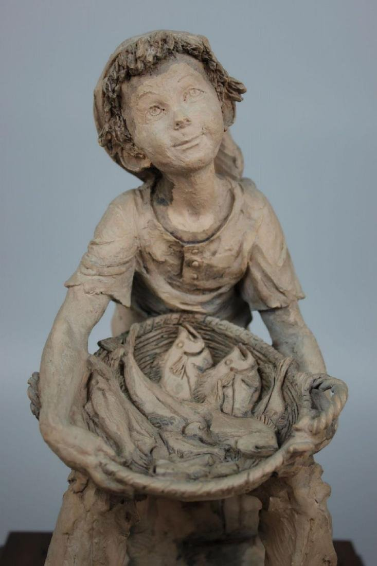 Rare Giuseppe Armani Figurine Fish Seller - 7