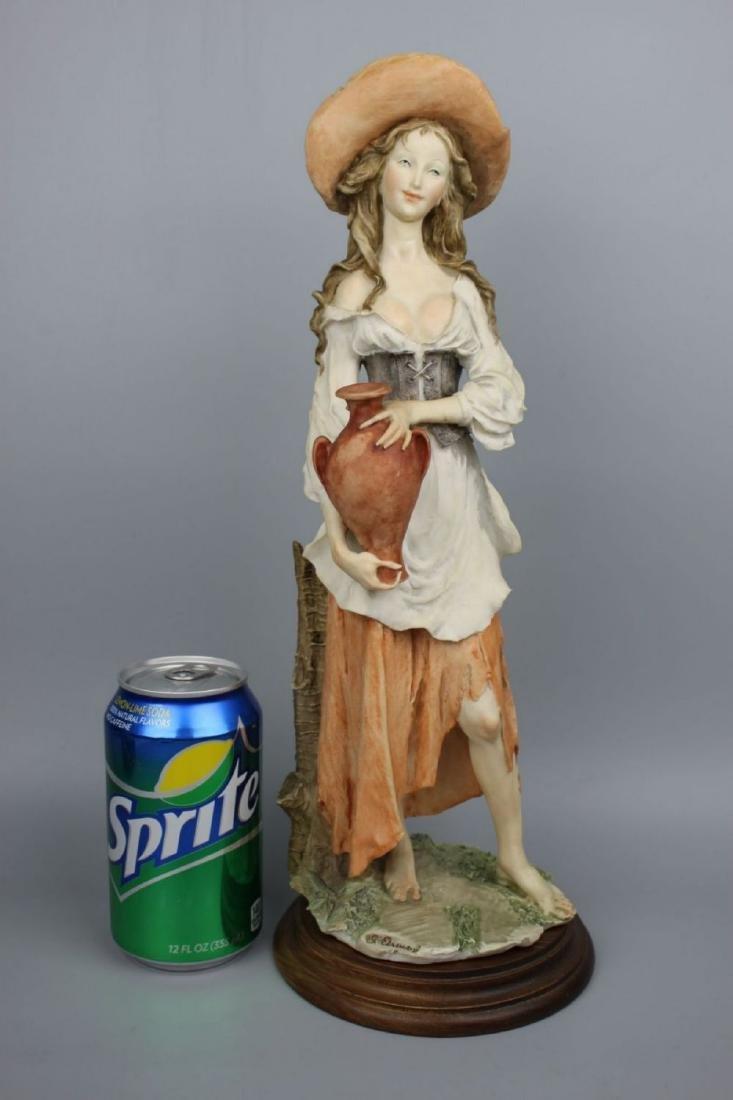 "Giuseppe Armani Figurine ""Peasant Woman with Jug"" - 10"
