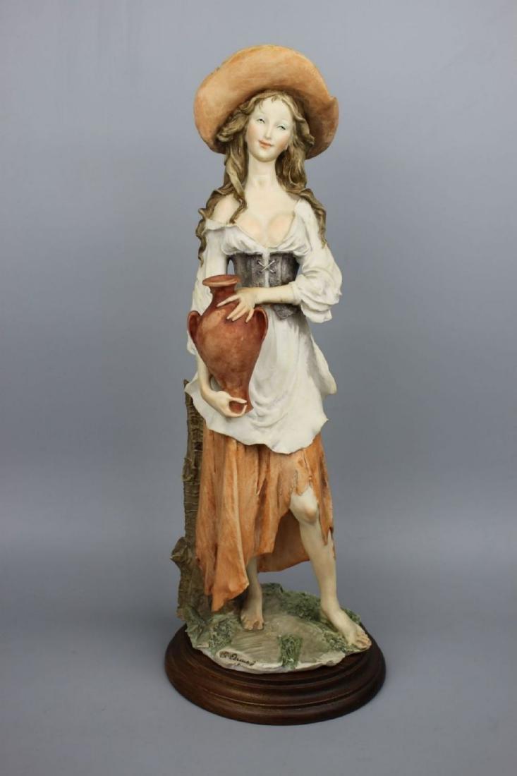 "Giuseppe Armani Figurine ""Peasant Woman with Jug"""