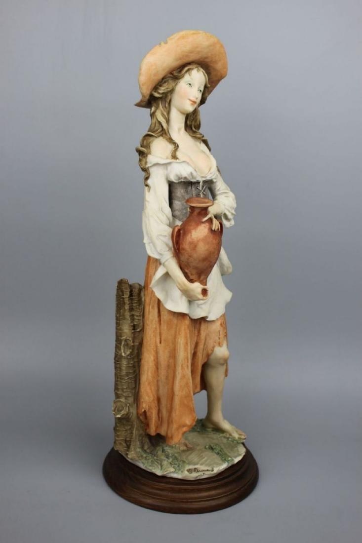 "Giuseppe Armani Figurine ""Peasant Woman with Jug"" - 2"
