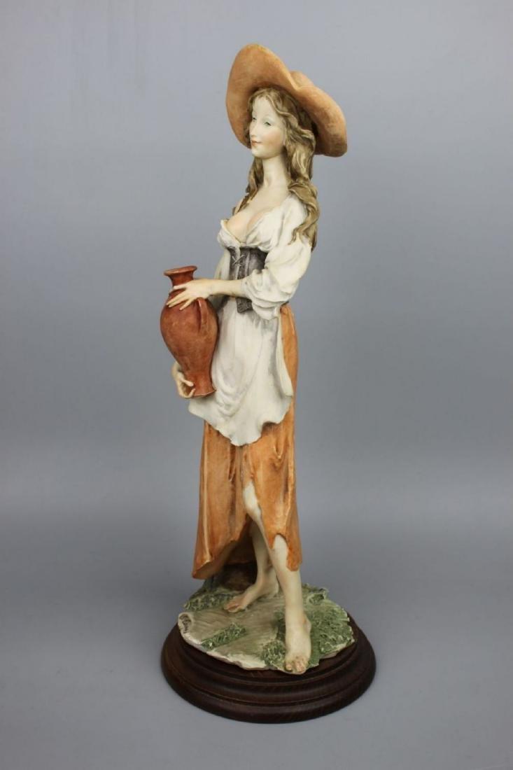 "Giuseppe Armani Figurine ""Peasant Woman with Jug"" - 3"