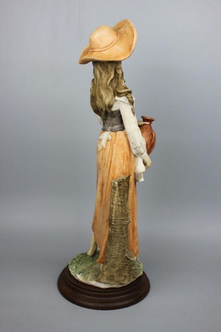 "Giuseppe Armani Figurine ""Peasant Woman with Jug"" - 6"