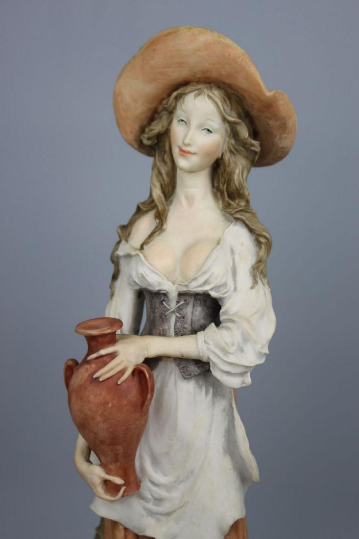 "Giuseppe Armani Figurine ""Peasant Woman with Jug"" - 7"