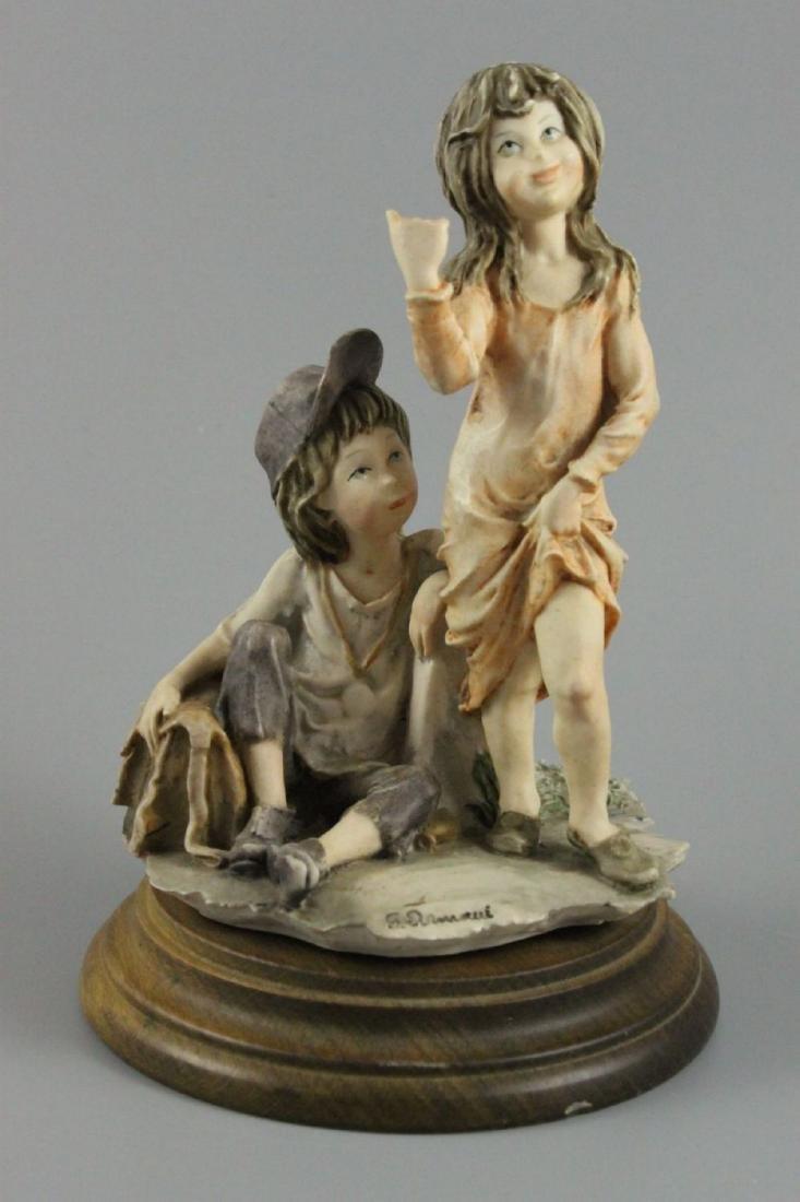 "Giuseppe Armani Figurine ""Hitch Hiking"""
