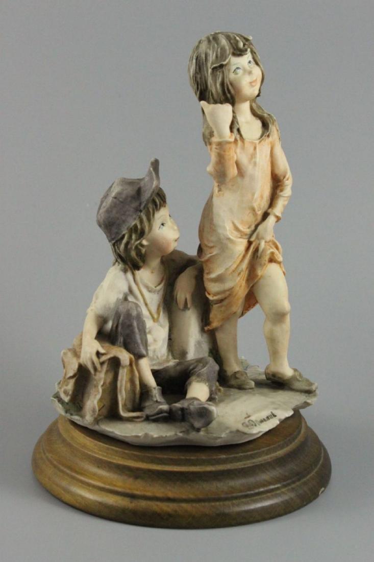 "Giuseppe Armani Figurine ""Hitch Hiking"" - 2"