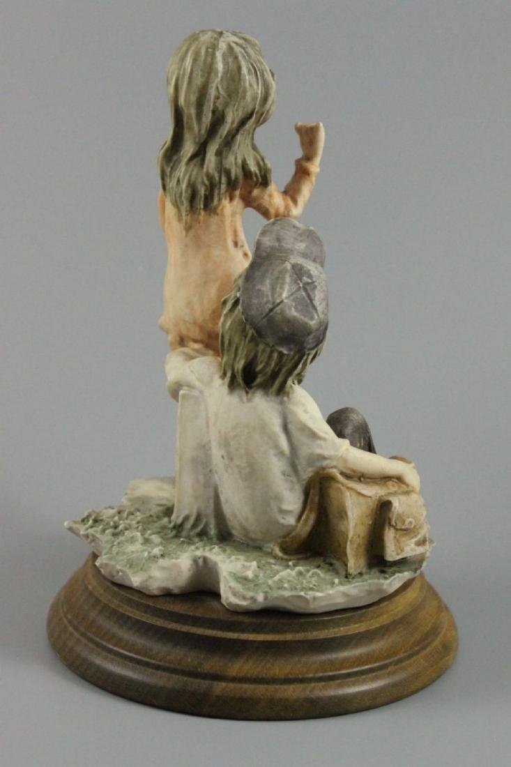 "Giuseppe Armani Figurine ""Hitch Hiking"" - 3"