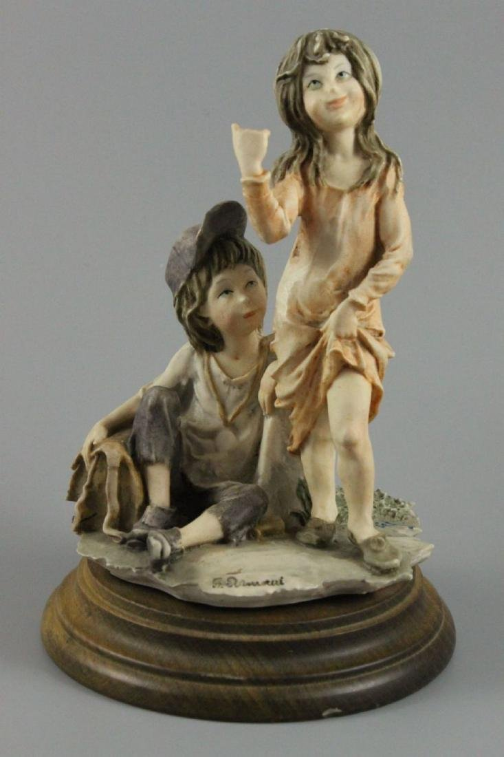 "Giuseppe Armani Figurine ""Hitch Hiking"" - 6"