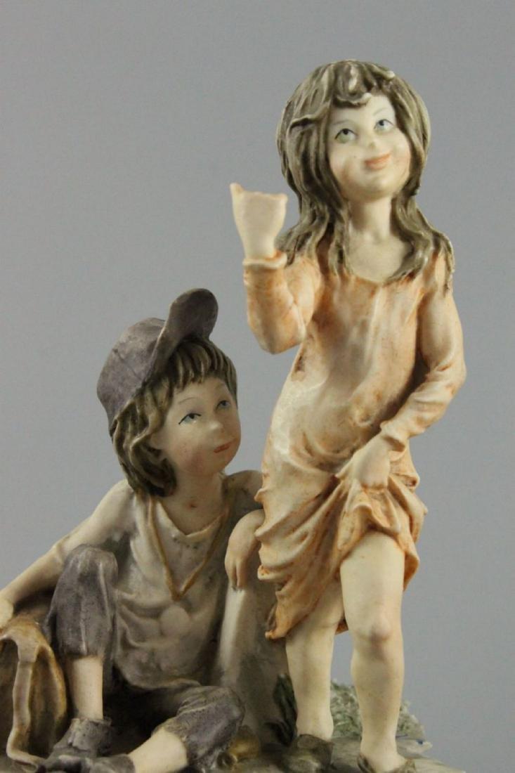 "Giuseppe Armani Figurine ""Hitch Hiking"" - 7"