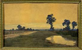 William Bartol Thomas (UK,1877-1947) watercolor on