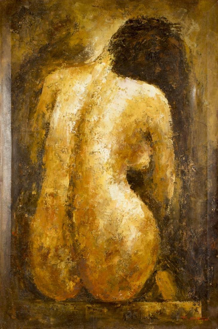 Donald Barton (MA,1903-1990) oil on canvas