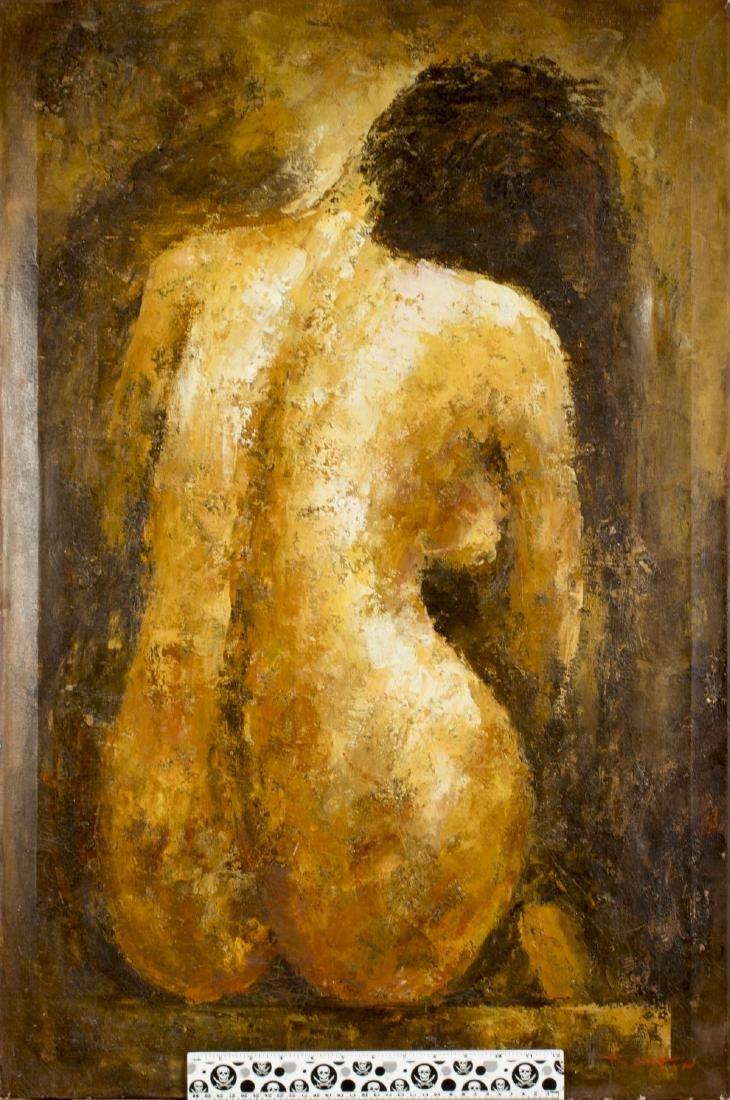 Donald Barton (MA,1903-1990) oil on canvas - 2