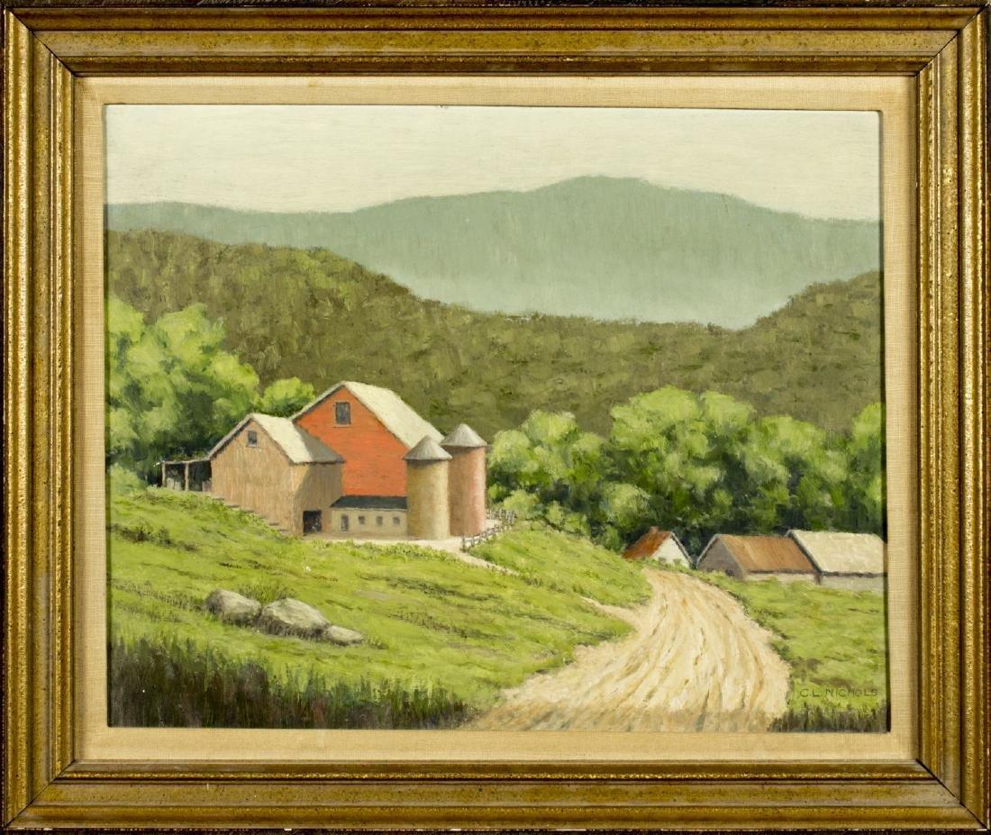 Carroll Nichols (NY,born 1882) oil on board