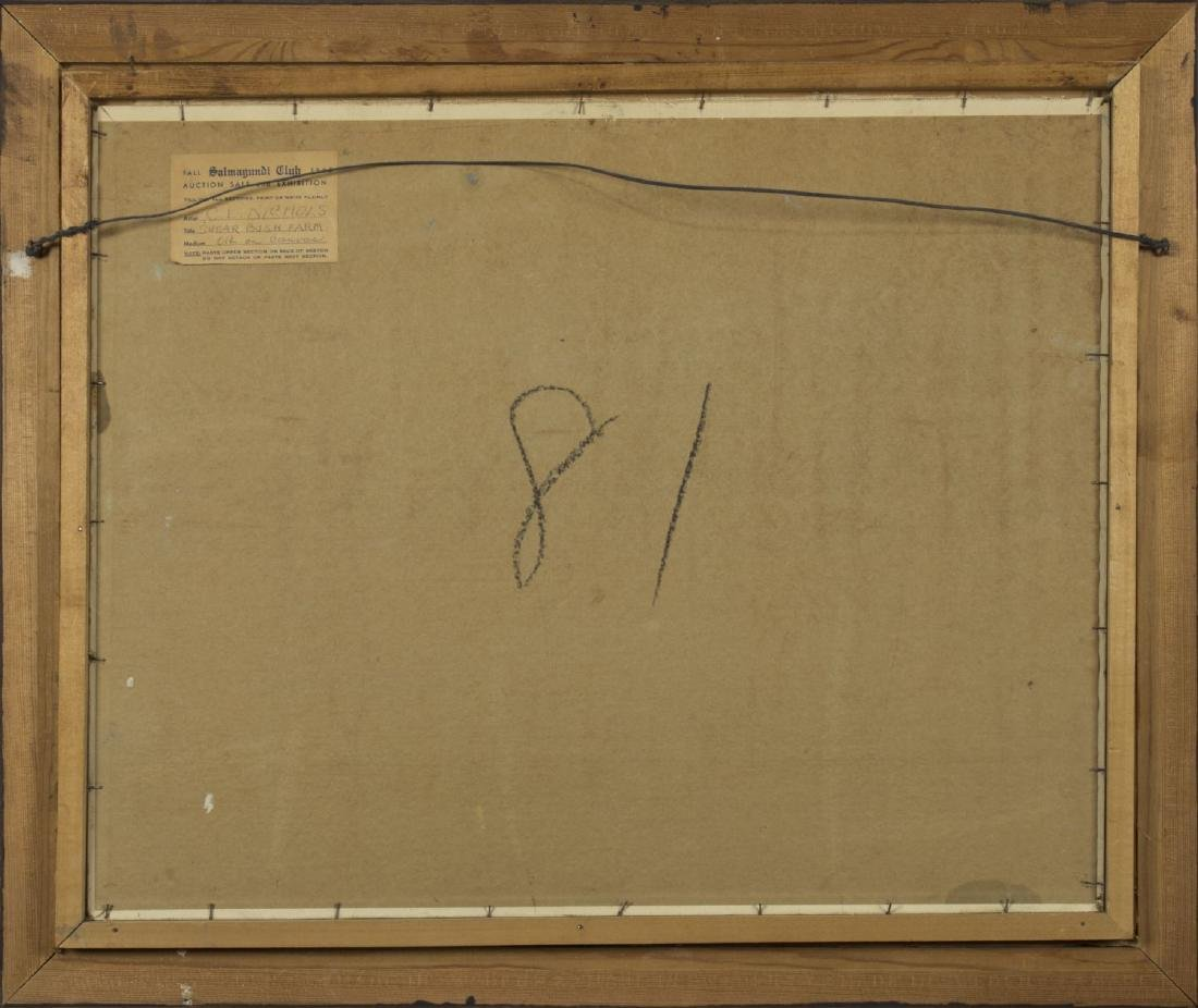 Carroll Nichols (NY,born 1882) oil on board - 8
