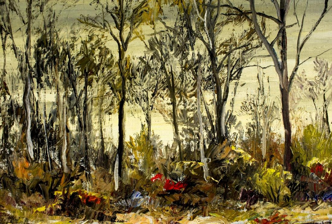 Roy Chester Keister (IL,OH,TX,CA,1886-1983) oil - 5