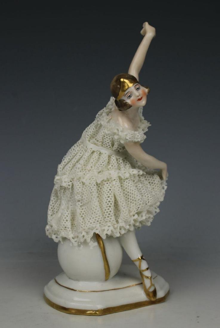 "Galluba & Hofmann Figurine ""Ballerina with Ball"" - 3"