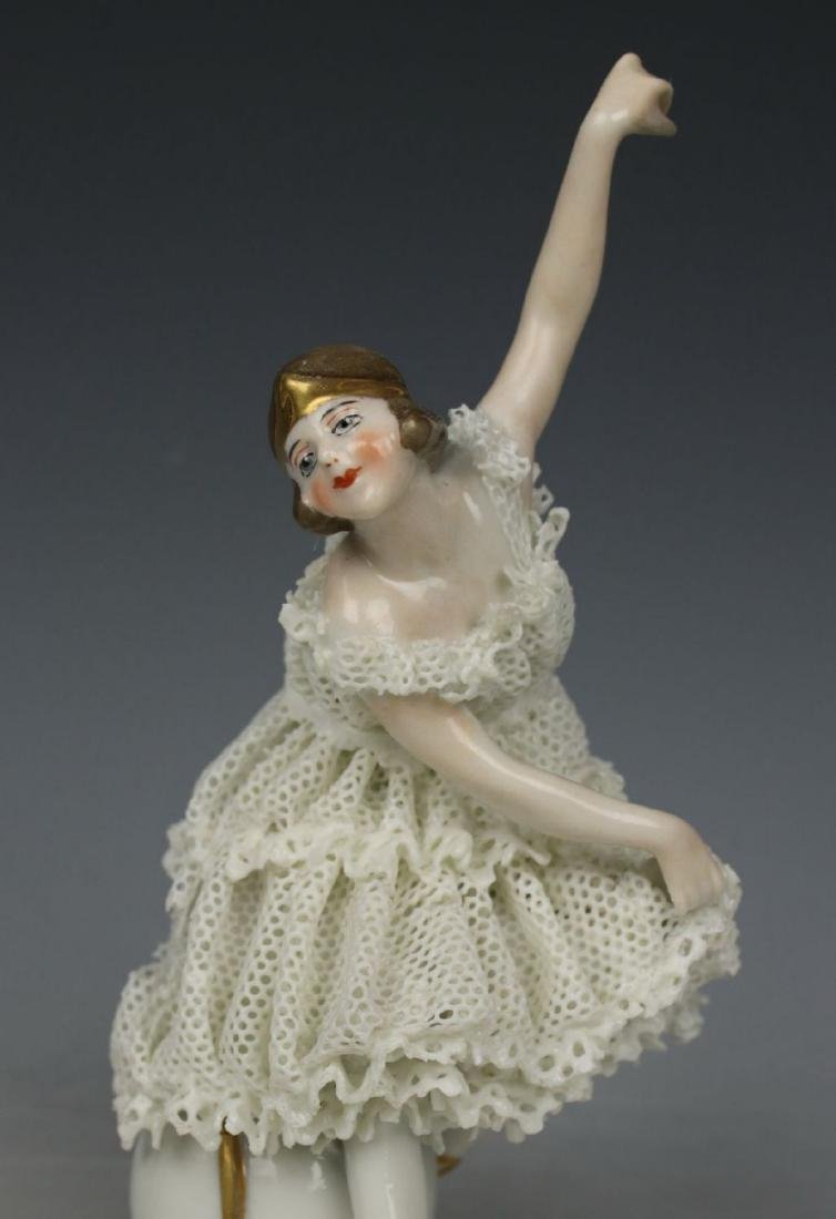 "Galluba & Hofmann Figurine ""Ballerina with Ball"" - 7"