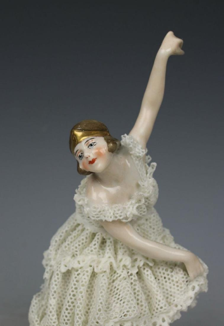 "Galluba & Hofmann Figurine ""Ballerina with Ball"" - 8"