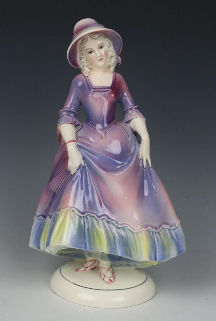 "Katzhutte Porcelain figurine ""Lady in Bonnet"""