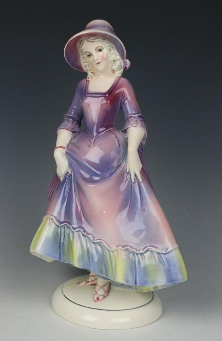 "Katzhutte Porcelain figurine ""Lady in Bonnet"" - 2"