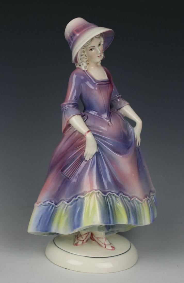 "Katzhutte Porcelain figurine ""Lady in Bonnet"" - 6"